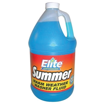 Elite Summer Windshield Washer Fluid +30 1gal