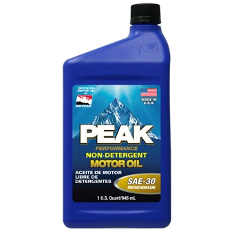 Peak 30 Sn Heavy-duty Motor Oil Qt