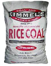 Anthracite Rice Coal 50lb