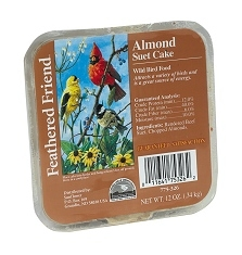 Feathered Friend Almond Suet 12oz