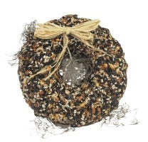 Feathered Friend Birdie Wreath 2.25 Lb
