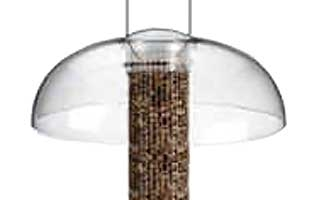Aspects Tube Top Dome Bird Feeder