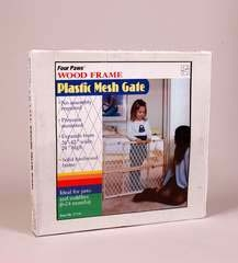 Pet Safety Gate Plastic Mesh