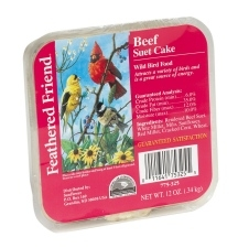 Feathered Friend Beef Suet 12oz