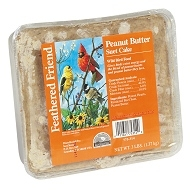 Feathered Friend Peanut Butter Suet Cake 3lb