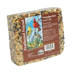 Feathered Friend Suet Woodpecker 2.5lb