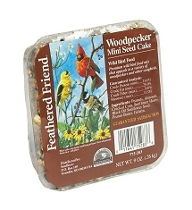 Feathered Friend Woodpecker Mini Cake 9oz