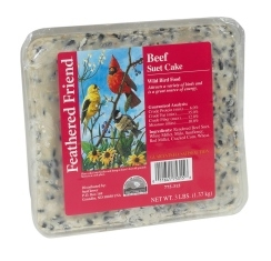 Feathered Friend Beef Suet Cake 3lb