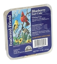 Feathered Friend Blueberry Suet Cake 12oz