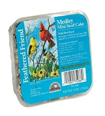Feathered Friend Mixed Seed Mini Cake 9oz