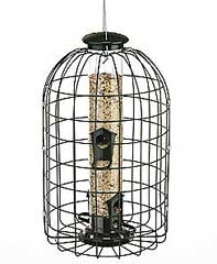Audubon Tube Feeder With Cage