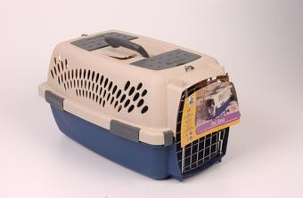 Pet Taxi Sand/navy Small