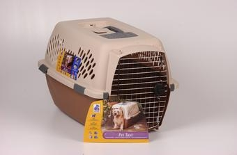 Pet Taxi Sand/brown Large