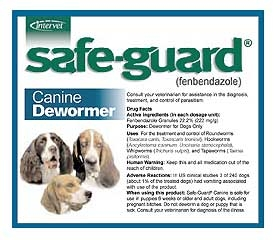 Safe-guard Canine Dewormer 20lb