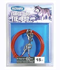 Agway Large Dog Tie Out 15ft