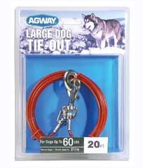 Agway Large Dog Tie Out 20ft