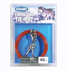 Agway Large Dog Tie Out 40ft