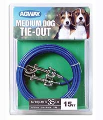 Agway Medium Dog Tie Out 15ft