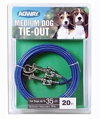 Agway Medium Dog Tie Out 20ft