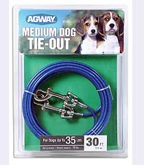 Agway Medium Dog Tie Out 30ft