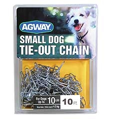 Agway Small Dog Chain 10ft