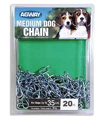 Agway Medium Dog Chain 20ft