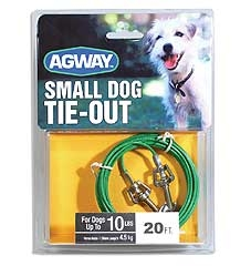Agway 20ft Small Dog Tie Out