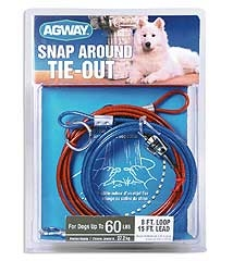 Agway Snap-around Tie Out
