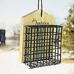Audubon Single Suet Cage