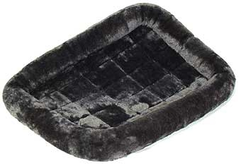 Quiet Time Pet Bed Pearl Grey 48in X 30in
