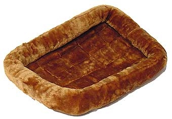 Quiet Time Pet Bed Cinnamon 36in X 23in