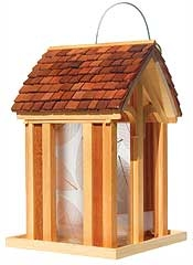 Mountain Chapel Bird Feeder