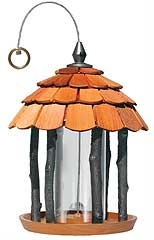 Gazebo Wood Bird Feeder