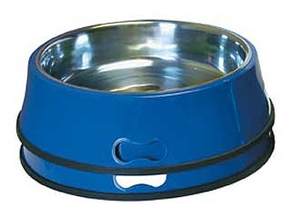 Heated Pet Bowl With Stainless Insert 5.5qt