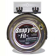 Snappy-fit Pet Bowl 1qt