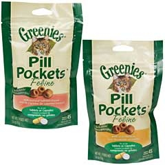Greenies Cat Pill Pocket Chicken 1.6oz