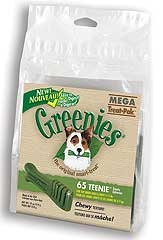 Greenies Mega Treat Pak Teenie