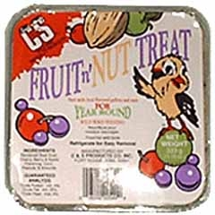 Fruit And Nut Treat Suet 11oz