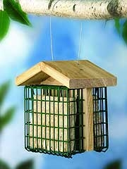 Stokes Select Double Suet Feeder Bronze