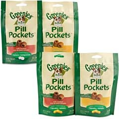 Greenies Pill Pocket Chicken Small 3.5oz