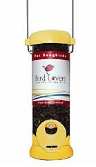 Bird Lovers 8in Songbird Feeder Yellow