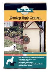 Ultrasonic Outdoor Bark Control