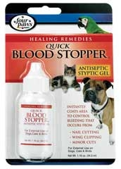 Quick Blood Stopper Antiseptic Gel 1.16oz
