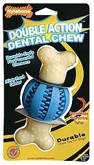 Double Action Dental Chew Round Ball