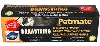Petmate Hi Back Liners 12ct Large
