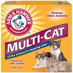 Arm & Hammer Multi-cat Litter Scented 20lb