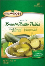 Mrs. Wages Bread & Butter Pickles Mix 5.3oz