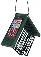 Feathered Friend Going Green Suet Bird Feeder