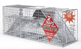 Advantek Catch & Release Animal Traps 2pk