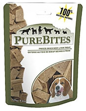 Purebites Beef Liver Dog Treat 4.2oz